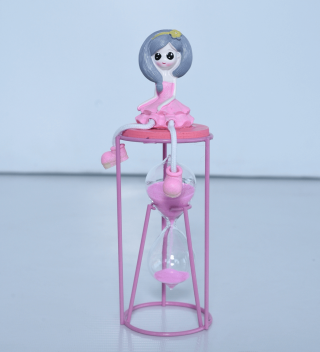 Exclusive Showpiece Girl On Sand Timer For Home Decor– HM0420