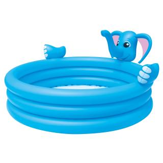 Bestway 3 Ring Elephant Spray Pool – HM0438