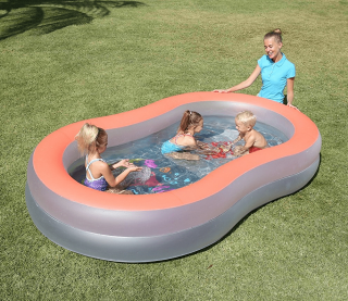 Doodle Glow Inflatable Play Pool – HM0440