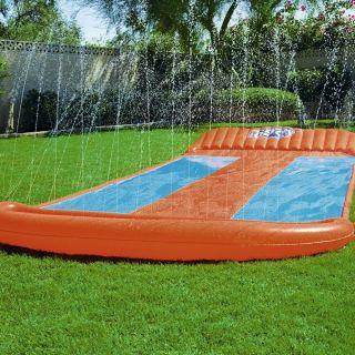 H2OGO! Triple Water Slide w/ Speed Ramp – HM0448