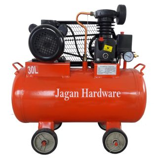 Portable Air Compressor 30 Liter Of Capacity With Motor Pump - WS0518