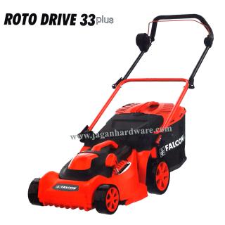 Falcon Roto Drive 33 Plus Rotary Electric Lawn Mower 1400W