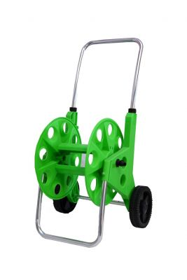 PLASTIC HOSE REEL 50 MTR WITH WHEELS