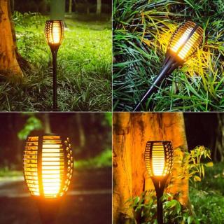 BKR® Solar Flame Garden Light – LG0304