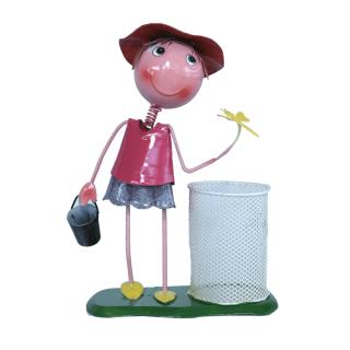 BKR® Boy Girl Pen/ Flower Stand Decoration  small- 6 Models assorted