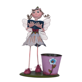 BKR® Fairy Flower Pot Decoration big - 2 Models assorted - LG0363