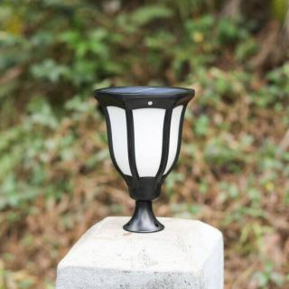 BKR® Solar Powered Garden /Wall Pillar Light