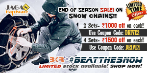 Snow Chains Offer